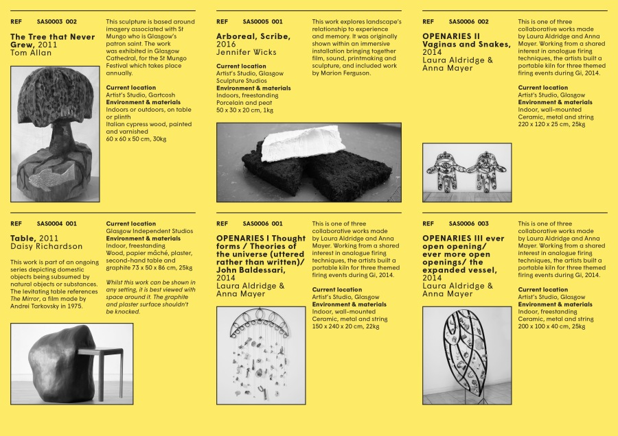 Sculpture Adoption catalogue April 2018 ed p03