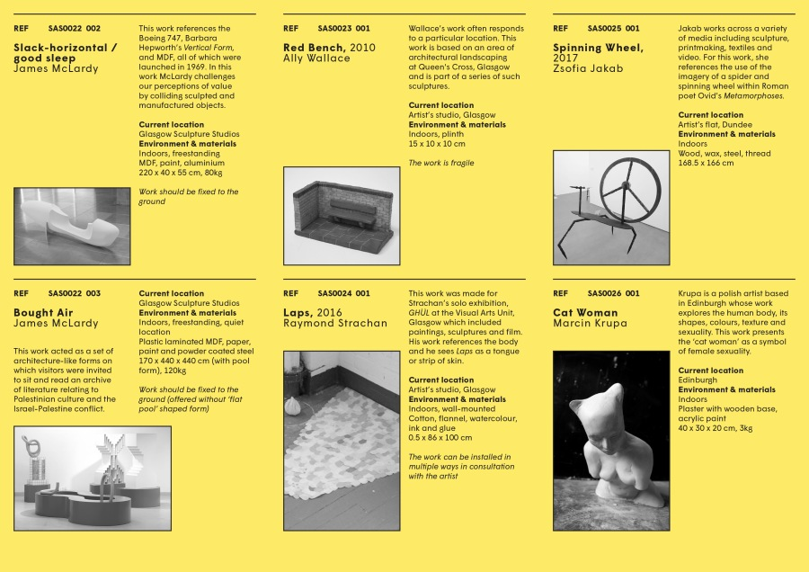Sculpture Adoption catalogue April 2018 ed p10