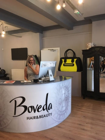 Beagles & Ramsay's Handbag at Boveda Hair & Beauty