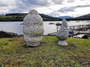 Alex Tedlie-Stursberg's Vessels at BLiSS Trail, Lochearnhead